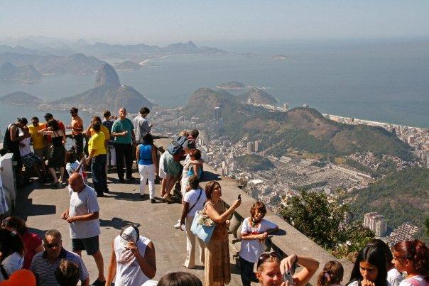 Muchos turistas visitan año tras año la cima del Corcovado/Fotos Juan Coma
