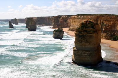 Los Doce Apóstoles/Foto Oficina de Turismo de Australia