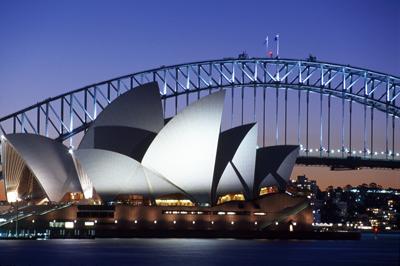 Ópera de Sidney/Foto Oficina de Turismo de Australia