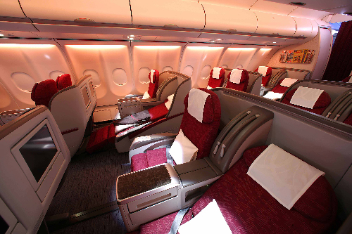 La Business Class de Qatar Airways: máxima comodidad en el aire