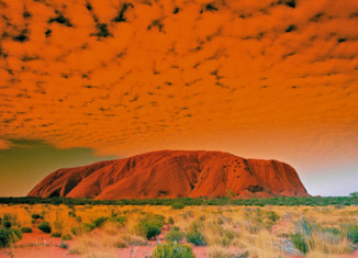 Ayers Rock/Foto Oficina de Turismo de Australia
