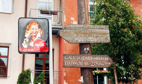 Barrio de Kazimierz, en Cracovia