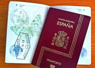 Pasaporte con sellos de Israel
