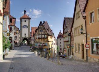 imagen Mercado de Navidad en Rothenburg…