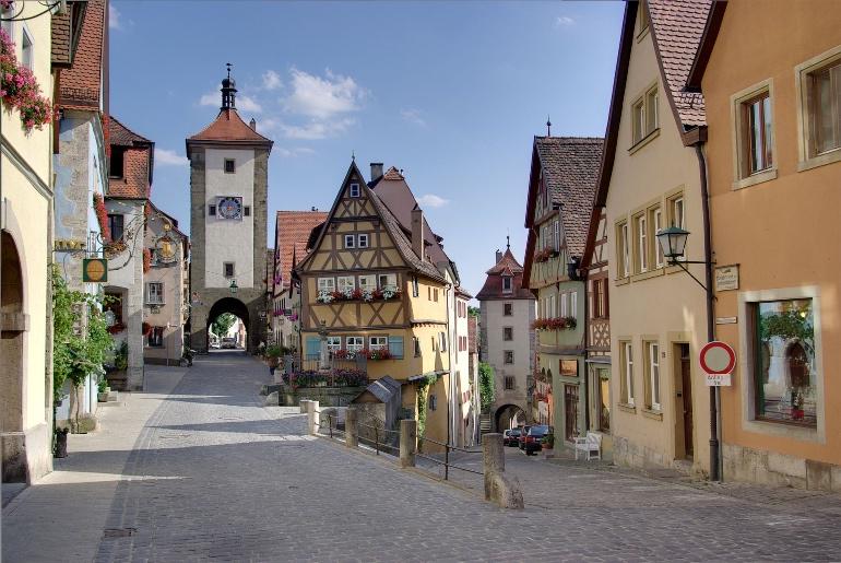 Rothenburg ob der Tauber, Alemania. Foto Berthold Werner