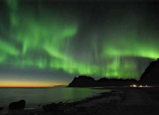 imagen Auroras Boreales en Noruega