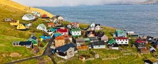 Pequeña localidad de Skúvoy, en la isla del mismo nombre. © Per Morten Abrahamsen