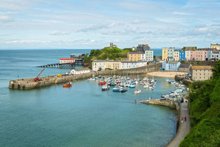 Dicen de Tenby que es uno de los pueblos más bonitos de Gales y del Reino Unido