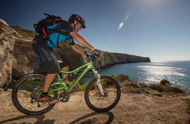 Malta tiene varias vías para practicar ciclismo y mountain bike