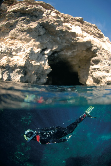 Snorkelling en Malta