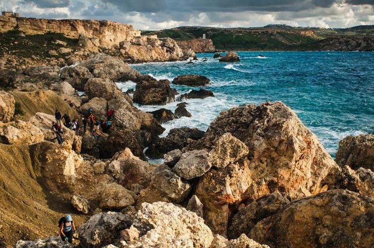 Trekking por Malta