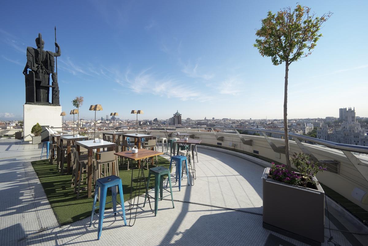 Azotea del Círculo, la terraza con las mejores vistas de Madrid