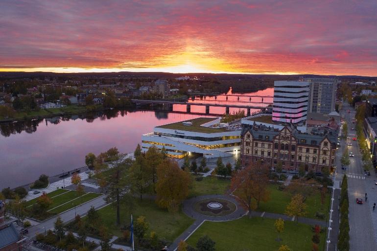 Umeå. Foto de VisitSweden