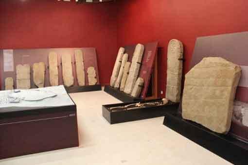 Museo del castro de Yecla La Vieja, en Yecla de Yeltes