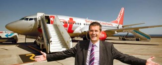 Steve Heapy Director General de Jet2.com y Jet2holidays