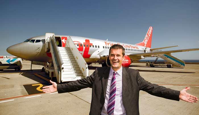 Steve Heapy Director General de Jet2.com y Jet2holidays