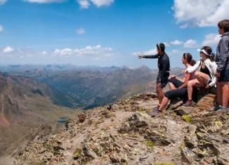 Montañeros en el Comapedrosa, en la parroquia de La Massana/Foto Andtur