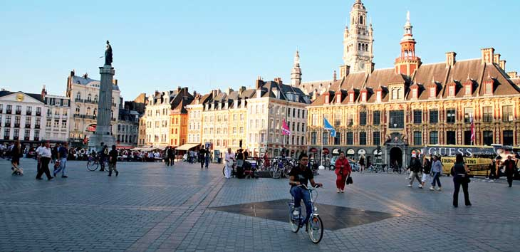 Grand Place © Don Muschter Steden / Office du Tourisme de Lille