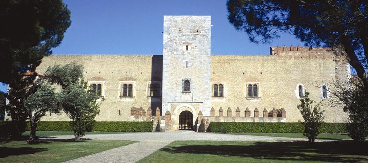 Palacio de los Reyes de Mallorca, del siglo XIII