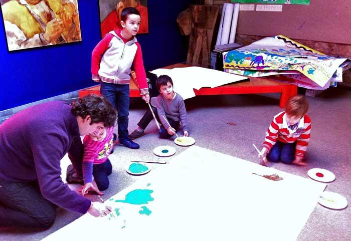 Actividades para niños en el Museo Evaristo Valle