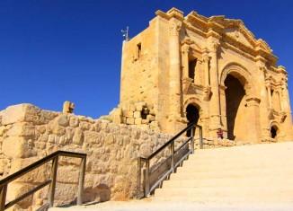 Arco de Adriano, en Jerash