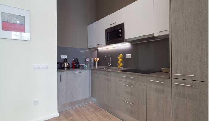 Cocina de Apartamentos Aspasios