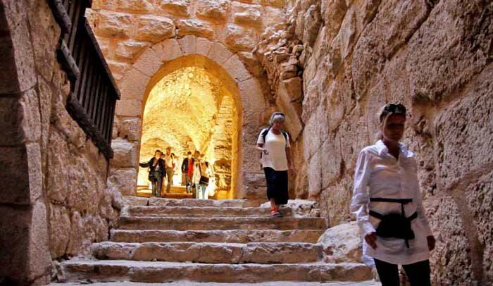 El Castillo de Ajlun es una de las atracciones turísticas del norte de Jordania