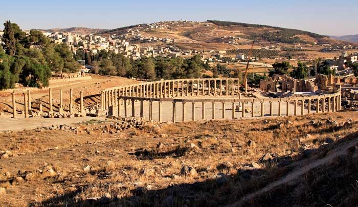Desde el año 1981 se celebra en este emplazamiento el Festival de Jerash