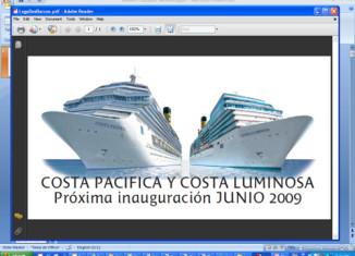 imagen Costa lanza su propio blog…