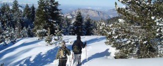 Raquetas de nieve en Beille ® ADT-Ariege /Angaka
