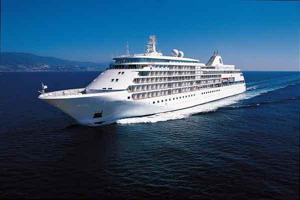 Buque de Silversea, especializada en cruceros de lujo