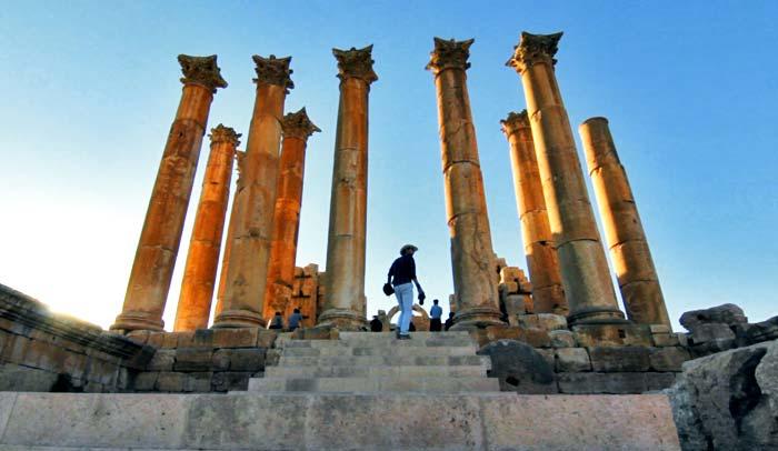 Templo de Artemis, en Jerash