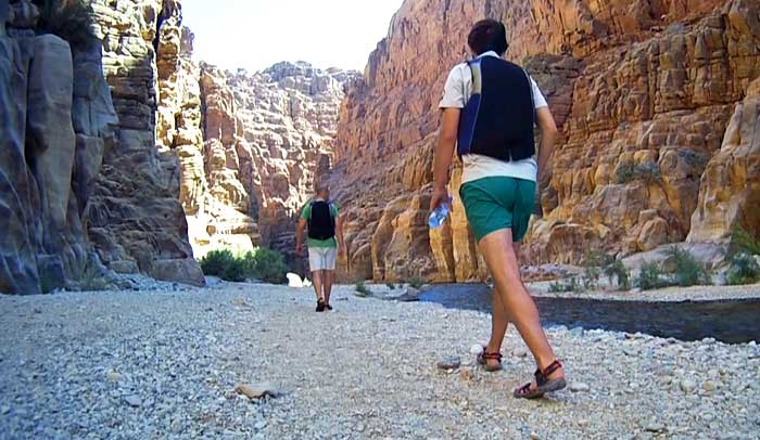 Reserva Natural de Wadi Mujib, en Jordania