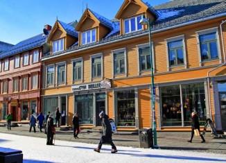 Storgata, calle principal de Tromsø