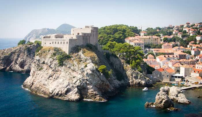 Fortaleza de Lovrijenac,en Dubrovnik