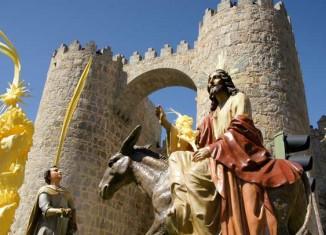 Procesión del Domingo de Ramos en Ávila