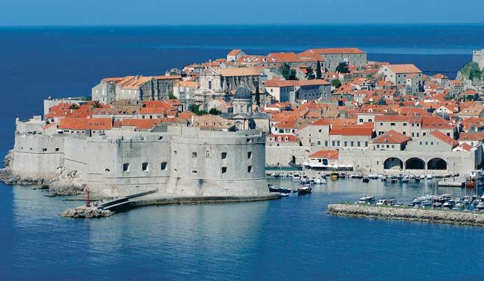 Vistas de la ciudad de Dubrovnik