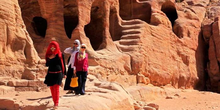 Petra es el legado más importante que dejaron en Jordania los nabateos