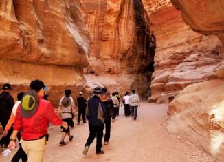 Más de cinco millones de turistas recorrieron el Siq en 2013
