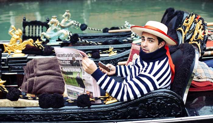 Gondolero veneciano © Flaminia Pelazzi