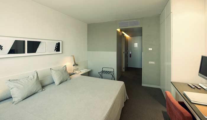 Habitación estándar del Ámister Art Hotel