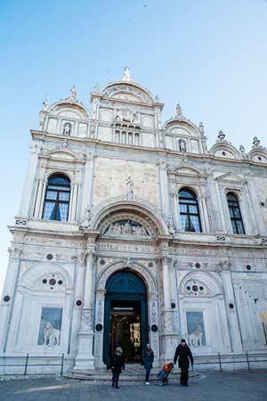 Scuola Grande di San Marco, el actual hospital civil de Venecia