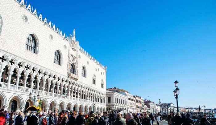 Exterior del Palacio Ducal © Flaminia Pelazzi