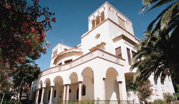 Villa Elisa, uno de los palacetes que forma parte de la Ruta de las Villas de Benicàssim