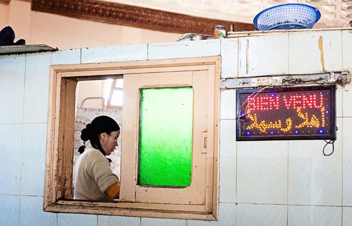 Típico bar de carretera de Marruecos © Flaminia Pelazzi