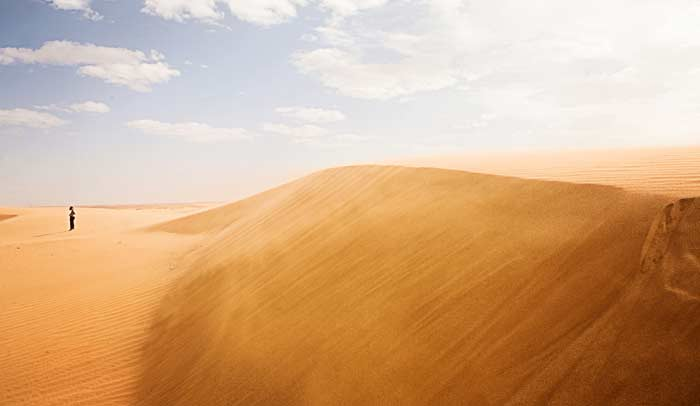 Duna del Erg Chebbi en el Gran Sáhara © Flaminia Pelazzi