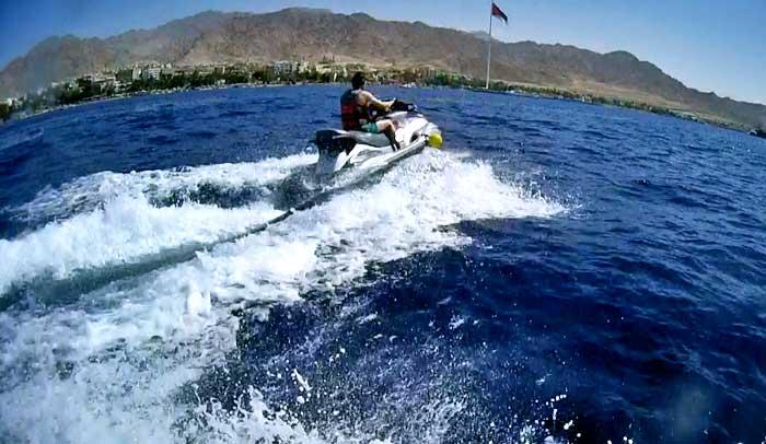 Excursión con motos de agua en el golfo de Aqaba