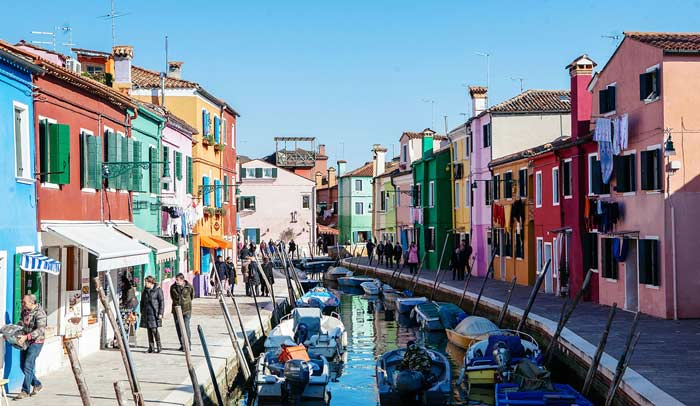 Canal de Burano © Flaminia Pelazzi