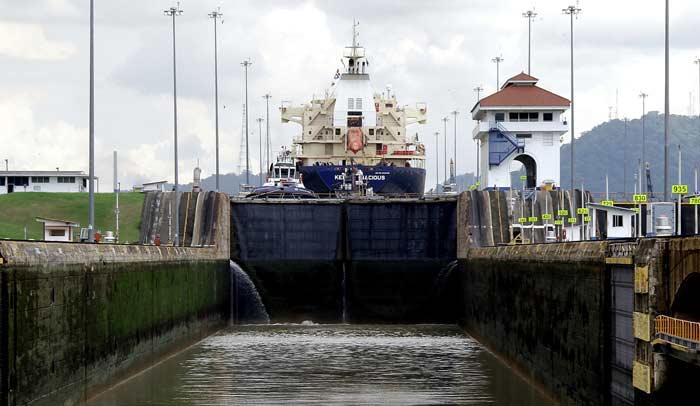 Canal de Panamá. Foto www.visitpanama.com