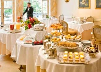 Desayuno del Hotel Orfila
